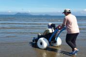 변산반도국립공원, 탐방약자를 위한 수상휠체어 도입
