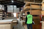 영덕국유림관리소 · 포항세관, 수입 목재제품 협업단속