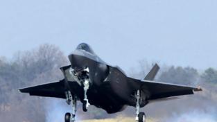 스텔스 전투기 F-35A 2대 최초 도입