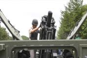 신형 120밀리 자주박격포 개발 성공!