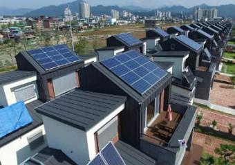 경상남도, 도내 2,000가구 주택용 태양광 설치로 전기료 아낀다.